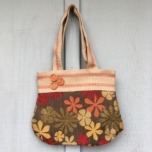 Handbags - VINTAGE 70's Handbag Handmade Tote Bag Purse